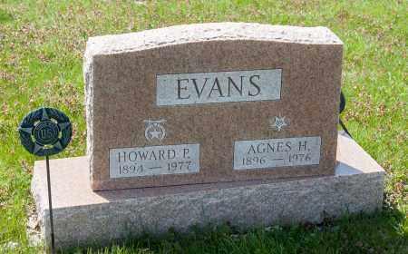HAGELY EVANS, AGNES - Crawford County, Ohio | AGNES HAGELY EVANS - Ohio Gravestone Photos