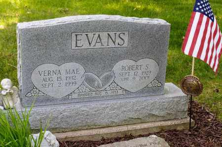 EVANS, ROBERT STEWART - Crawford County, Ohio | ROBERT STEWART EVANS - Ohio Gravestone Photos