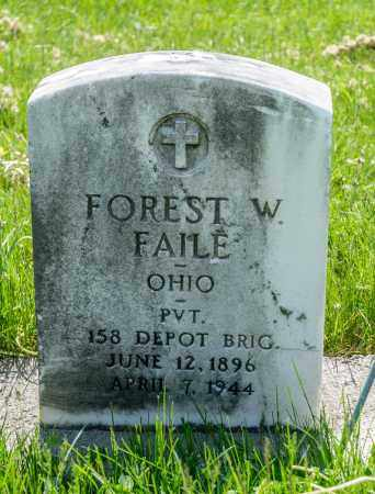 FAILE, FOREST W. - Crawford County, Ohio | FOREST W. FAILE - Ohio Gravestone Photos