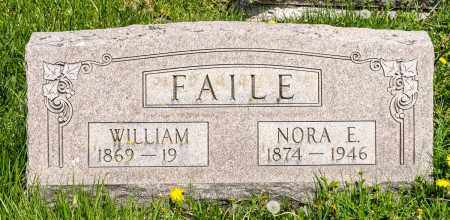 FAILE, NORA E. - Crawford County, Ohio | NORA E. FAILE - Ohio Gravestone Photos
