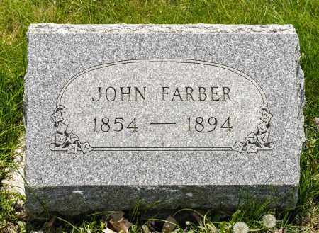 FARBER, JOHN - Crawford County, Ohio | JOHN FARBER - Ohio Gravestone Photos