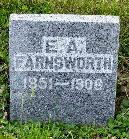 FARNSWORTH, E. A. - Crawford County, Ohio | E. A. FARNSWORTH - Ohio Gravestone Photos