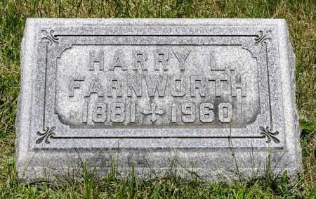 FARNWORTH, HARRY LEVI - Crawford County, Ohio | HARRY LEVI FARNWORTH - Ohio Gravestone Photos