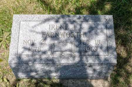 FARNWORTH, IRENE I. - Crawford County, Ohio | IRENE I. FARNWORTH - Ohio Gravestone Photos