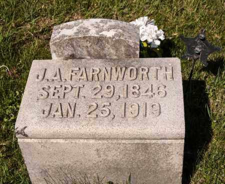 FARNWORTH, JAMES A. - Crawford County, Ohio | JAMES A. FARNWORTH - Ohio Gravestone Photos