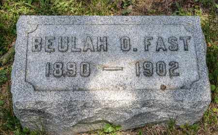 FAST, BEULAH O. - Crawford County, Ohio | BEULAH O. FAST - Ohio Gravestone Photos