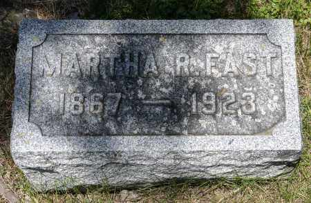 MARTIN FAST, MARTHA R. - Crawford County, Ohio | MARTHA R. MARTIN FAST - Ohio Gravestone Photos