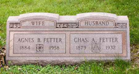 BLACKFORD FETTER, AGNES - Crawford County, Ohio | AGNES BLACKFORD FETTER - Ohio Gravestone Photos
