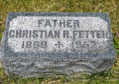 FETTER, CHRISTIAN HERMAN - Crawford County, Ohio | CHRISTIAN HERMAN FETTER - Ohio Gravestone Photos