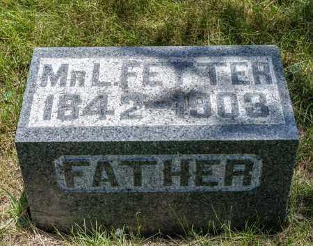 FETTER, LEONARD JOHN - Crawford County, Ohio | LEONARD JOHN FETTER - Ohio Gravestone Photos