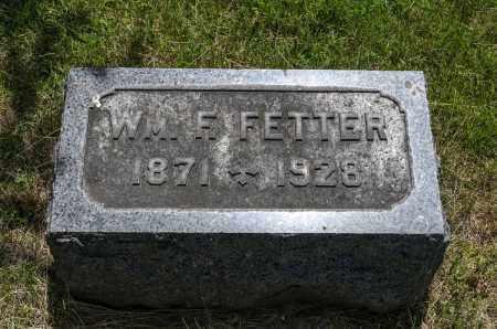 FETTER, WILLIAM F. - Crawford County, Ohio | WILLIAM F. FETTER - Ohio Gravestone Photos