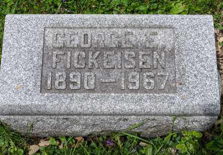 FICKEISEN, GEORGE E. - Crawford County, Ohio | GEORGE E. FICKEISEN - Ohio Gravestone Photos