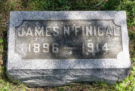 FINICAL, JAMES NOAH - Crawford County, Ohio | JAMES NOAH FINICAL - Ohio Gravestone Photos