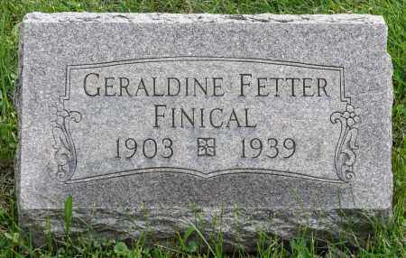 FINICAL, RUTH GERALDINE - Crawford County, Ohio | RUTH GERALDINE FINICAL - Ohio Gravestone Photos