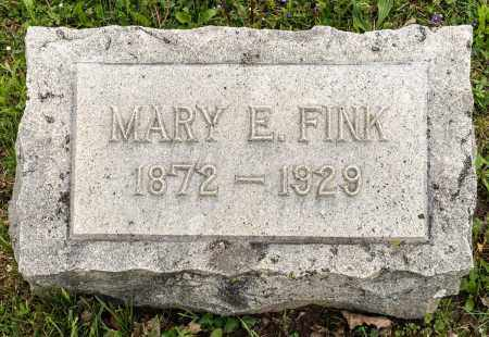 FINK, MARY E. - Crawford County, Ohio | MARY E. FINK - Ohio Gravestone Photos
