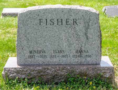 OVERLY FISHER, MINERVA JANE - Crawford County, Ohio | MINERVA JANE OVERLY FISHER - Ohio Gravestone Photos