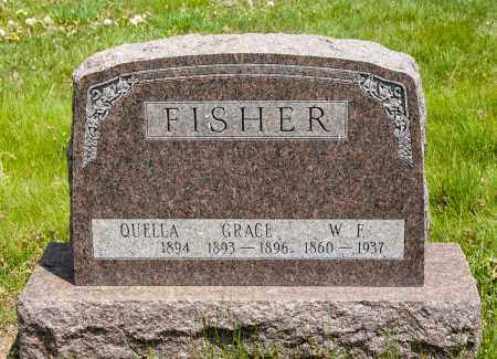 FISHER, QUELLA - Crawford County, Ohio | QUELLA FISHER - Ohio Gravestone Photos