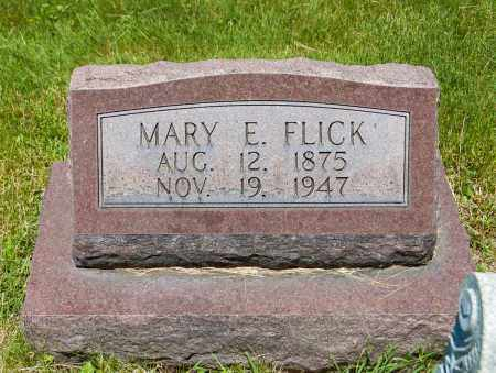 FLICK, MARY EMMA - Crawford County, Ohio | MARY EMMA FLICK - Ohio Gravestone Photos