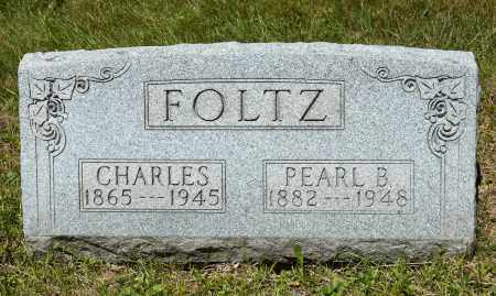 FOLTZ, PEARL B. - Crawford County, Ohio | PEARL B. FOLTZ - Ohio Gravestone Photos