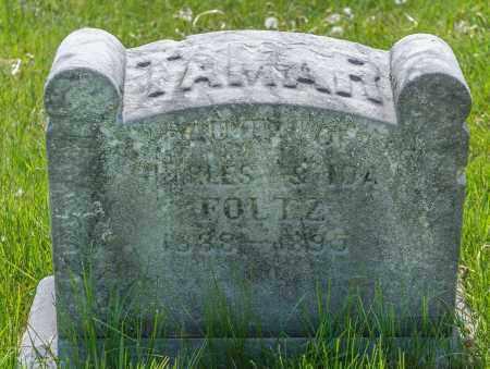 FOLTZ, TAMAR ETHEL - Crawford County, Ohio | TAMAR ETHEL FOLTZ - Ohio Gravestone Photos