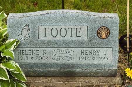 HILLIS FOOTE, HELENE N. - Crawford County, Ohio | HELENE N. HILLIS FOOTE - Ohio Gravestone Photos