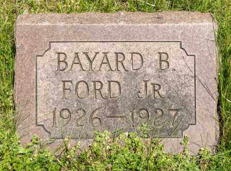FORD, BAYARD B.  JR. - Crawford County, Ohio | BAYARD B.  JR. FORD - Ohio Gravestone Photos