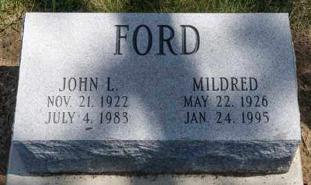 FORD, MILDRED - Crawford County, Ohio | MILDRED FORD - Ohio Gravestone Photos