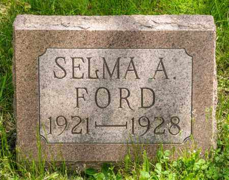 FORD, SELMA A. - Crawford County, Ohio | SELMA A. FORD - Ohio Gravestone Photos