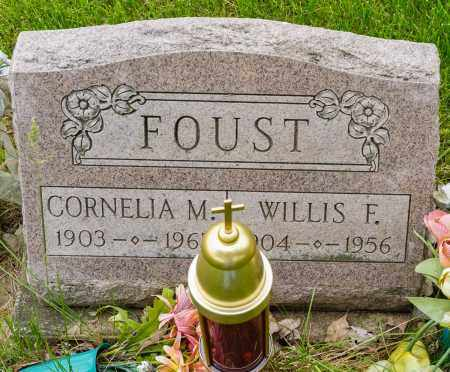 FOUST, WILLIS F. - Crawford County, Ohio | WILLIS F. FOUST - Ohio Gravestone Photos