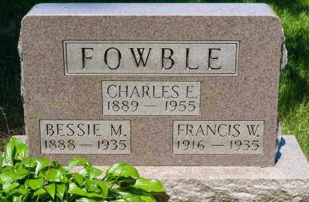 FOWBLE, BESSIE MAE - Crawford County, Ohio | BESSIE MAE FOWBLE - Ohio Gravestone Photos