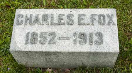 FOX, CHARLES EDWARD - Crawford County, Ohio | CHARLES EDWARD FOX - Ohio Gravestone Photos