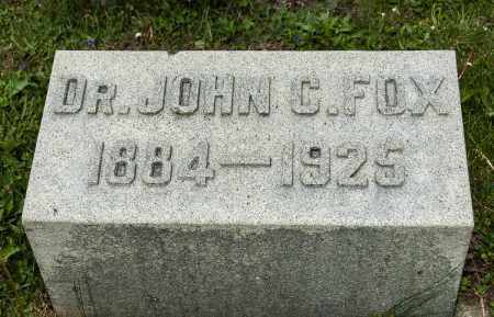 FOX, JOHN C. - Crawford County, Ohio | JOHN C. FOX - Ohio Gravestone Photos
