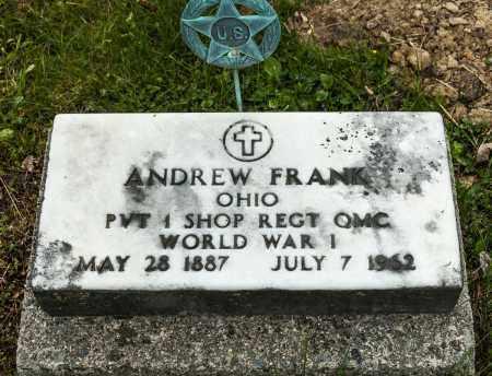 FRANK, ANDREW - Crawford County, Ohio | ANDREW FRANK - Ohio Gravestone Photos