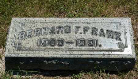 FRANK, BERNARD F. - Crawford County, Ohio | BERNARD F. FRANK - Ohio Gravestone Photos
