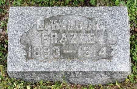 FRAZEE, J. WILBUR - Crawford County, Ohio | J. WILBUR FRAZEE - Ohio Gravestone Photos