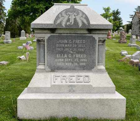 FREED, JOHN C. - Crawford County, Ohio | JOHN C. FREED - Ohio Gravestone Photos