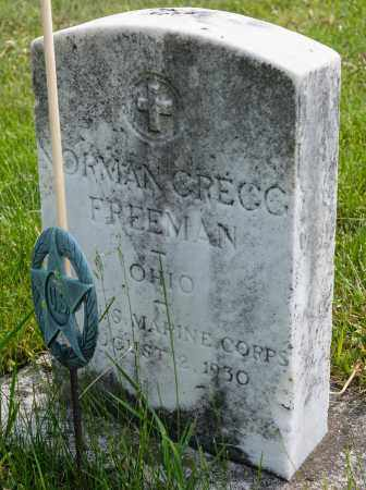 FREEMAN, NORMAN GREGG - Crawford County, Ohio | NORMAN GREGG FREEMAN - Ohio Gravestone Photos