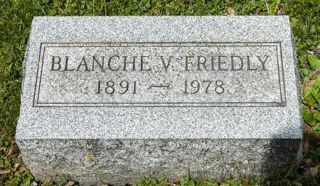FRIEDLY, BLANCHE V. - Crawford County, Ohio | BLANCHE V. FRIEDLY - Ohio Gravestone Photos