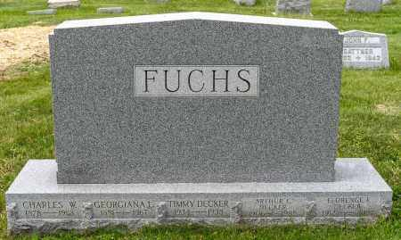 FUCHS, GEORGEANNA - Crawford County, Ohio | GEORGEANNA FUCHS - Ohio Gravestone Photos