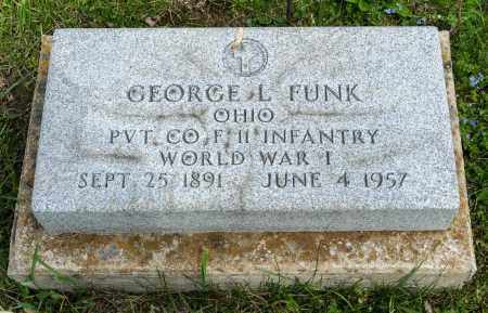 FUNK, GEORGE L. - Crawford County, Ohio | GEORGE L. FUNK - Ohio Gravestone Photos
