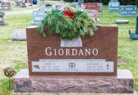 GIORDANO, CARL F - Crawford County, Ohio | CARL F GIORDANO - Ohio Gravestone Photos
