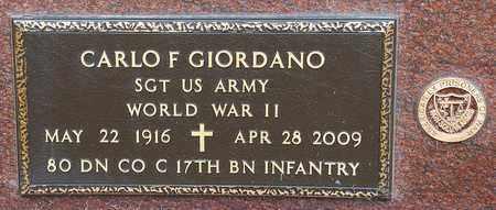 GIORDANO, CARLO F - Crawford County, Ohio | CARLO F GIORDANO - Ohio Gravestone Photos