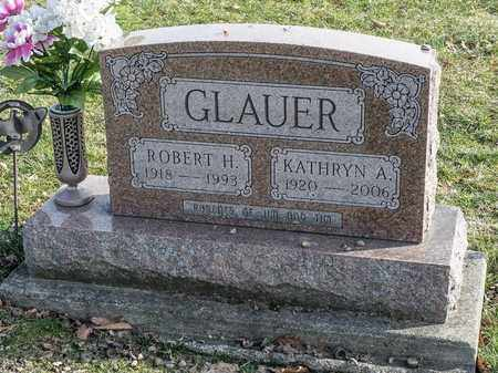 GLAUER, KATHRYN A - Crawford County, Ohio | KATHRYN A GLAUER - Ohio Gravestone Photos