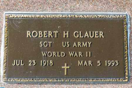 GLAUER, ROBERT H - Crawford County, Ohio | ROBERT H GLAUER - Ohio Gravestone Photos