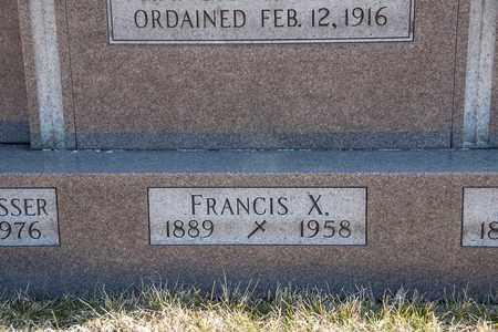 GOSSER, FRANCIS XAVIER - Crawford County, Ohio | FRANCIS XAVIER GOSSER - Ohio Gravestone Photos