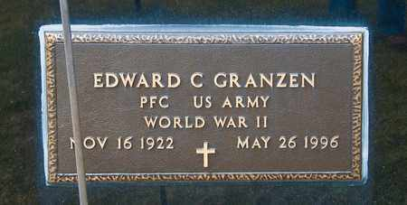 GRANZEN, EDWARD C - Crawford County, Ohio | EDWARD C GRANZEN - Ohio Gravestone Photos