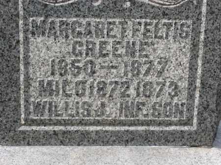 GREENE CLOSEUP, MARGARET - Crawford County, Ohio | MARGARET GREENE CLOSEUP - Ohio Gravestone Photos