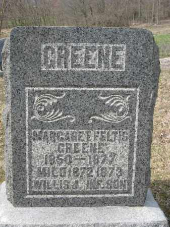 GREENE, MARGARET - Crawford County, Ohio | MARGARET GREENE - Ohio Gravestone Photos