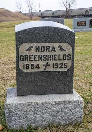 GREENSHIELDS, NORA - Crawford County, Ohio | NORA GREENSHIELDS - Ohio Gravestone Photos