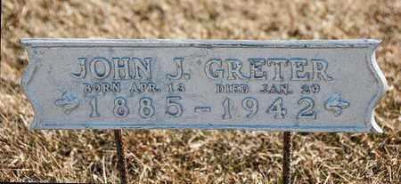 GRETER, JOHN J - Crawford County, Ohio | JOHN J GRETER - Ohio Gravestone Photos